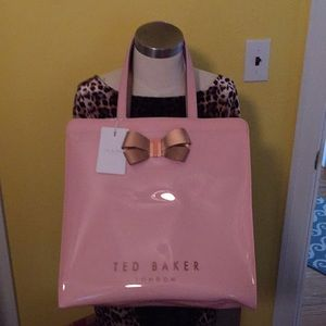 Ted Baker Bow Detail Large Icon Bag